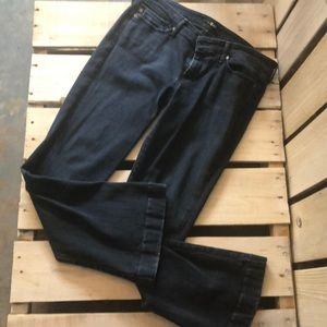 7 for all Mankind Navy Flair Jeans Size 32